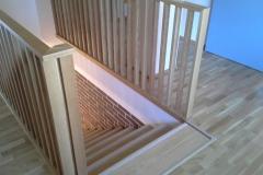 Trepi piirded teisel korrusel
