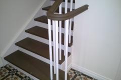 trepp värvitud kahte tooni